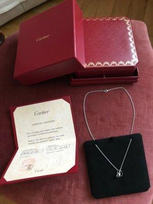 Cartier Collar estilo collier color plata oro verdadero