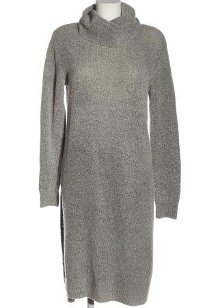 love knitwear Vestido tipo jersey gris claro look casual