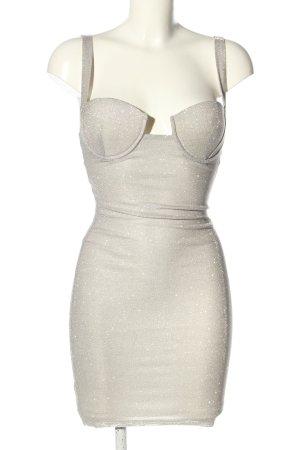 Love & Lemonade Sukienka gorsetowa srebrny Elegancki