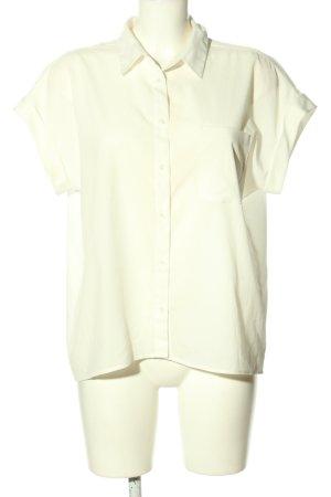 love mango basic Camicia a maniche corte bianco stile casual