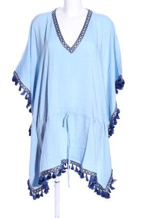 Tunikabluse blau Casual-Look