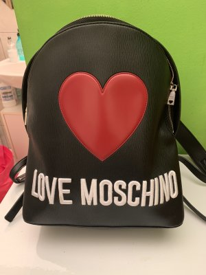 Love Moschino School Backpack black
