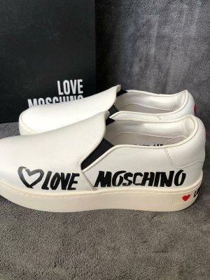 Love Moschino Pantofel biały