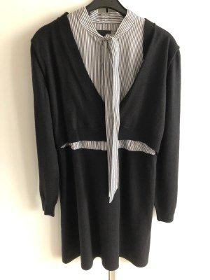 Love Moschino Vestido de lana negro