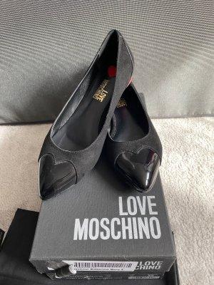 Love Moschino Ballerinas schwarz Größe 36