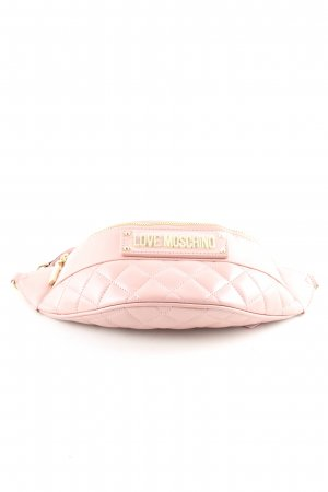 Love Moschino Bumbag pink quilting pattern casual look