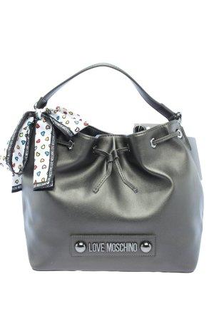 Love Moschino Sac seau noir style décontracté