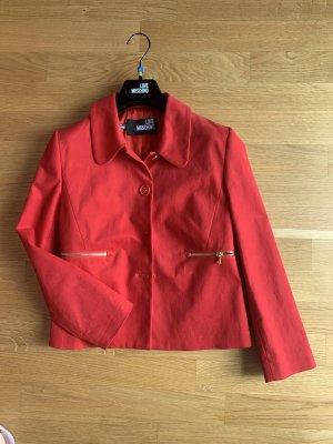 Love Moschino Blazer vaquero rojo