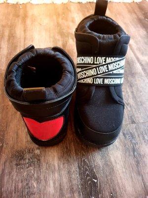 Love Moschino Buty śniegowe czarny-czerwony