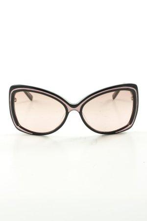 Love Moschino Brille schwarz-creme Business-Look