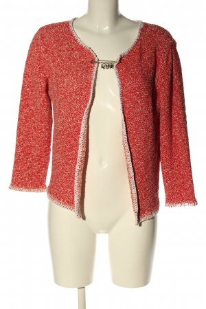 Love Moschino Cardigan red flecked casual look