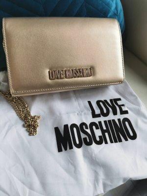 Love Moschino Minibolso color oro