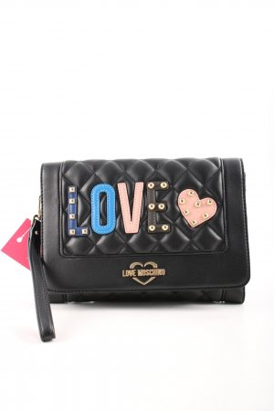 "Love Moschino Clutch ""Quilted Love Clutch Black"""