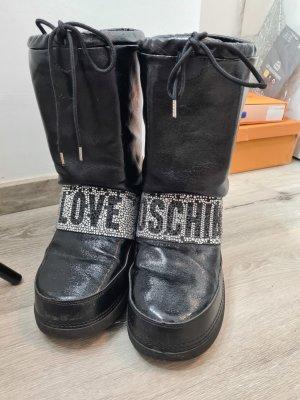 Love Moschino Botas de nieve negro-color plata