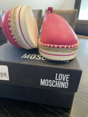 Love Moschino Heel Sneakers pink