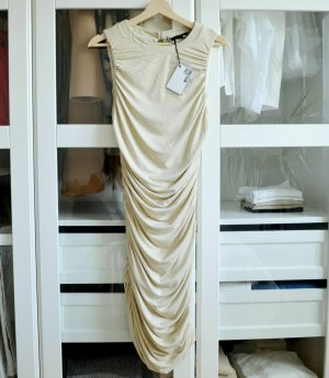 Love Moschino Sheath Dress gold-colored viscose