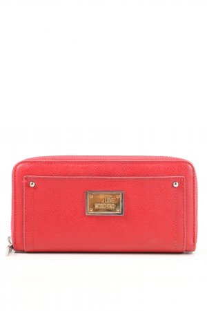 Love Moschino Portemonnee rood casual uitstraling