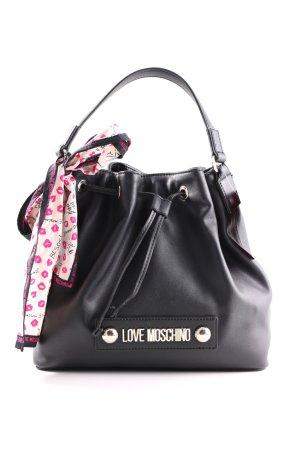 Love Moschino Handtasche schwarz Business-Look