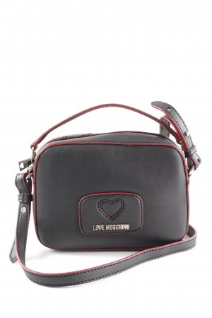 "Love Moschino Handtasche ""Logo Scarf Smooth Handle Crossbody Bag Nero"""