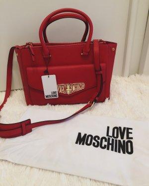 Love Moschino Handtasche mit Umhängegürtel