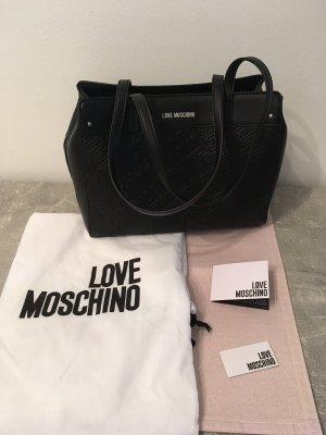Love Moschino Handtasche, schwarz, neu