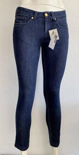 Love Moschino Hose Jeans JoggPant Gr. 34 blau Logo