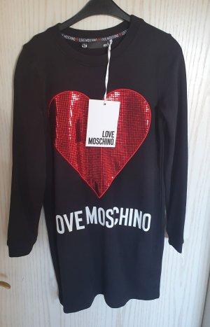 Love Moschino Sweat Dress black-red