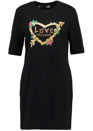 Moschino Vestido estilo camisa negro