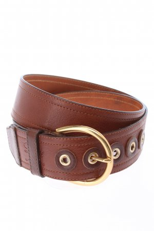 Love Moschino Leather Belt brown casual look