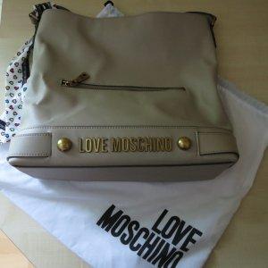 Love Moschino Borsa sacco crema-beige chiaro Tessuto misto