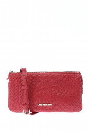 Love Moschino Mini Bag red themed print casual look