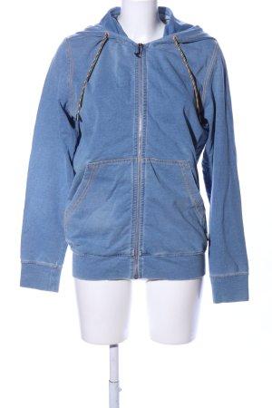 Love Moschino Oversized Jacke blau meliert Casual-Look