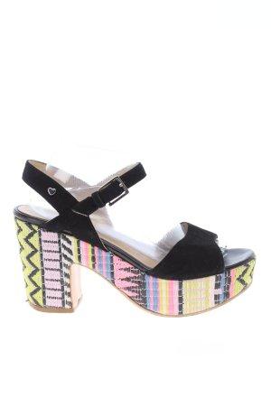 Love Moschino Platform High-Heeled Sandal multicolored casual look