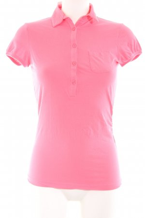 Love Moschino Polo Shirt pink casual look