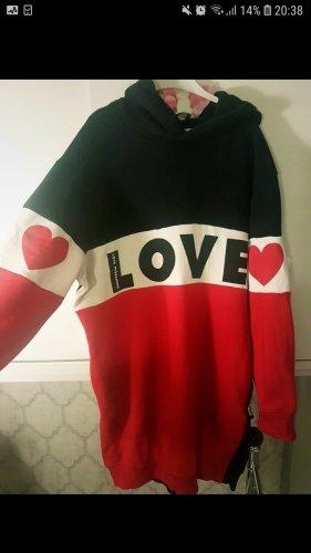 love moschino pulloverkleid