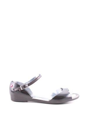 Love Moschino Sandalo con cinturino nero stile casual