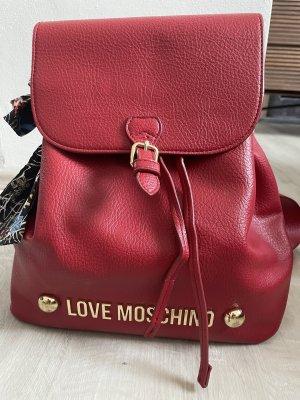 Love Moschino Daypack dark red