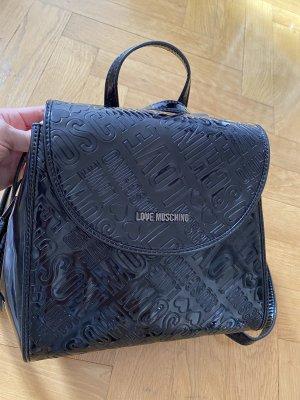 Love Moschino Carrito de mochila negro
