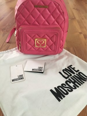 Love Moschino Rugzaktrolley roze