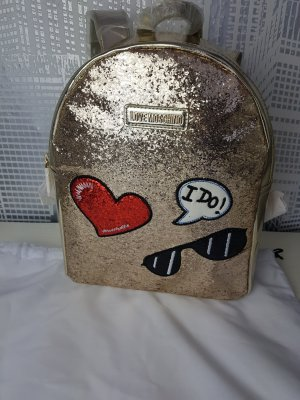 Love Moschino Backpack gold-colored