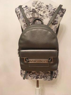 Love Moschino Sac à dos pour ordinateur portable argenté-gris