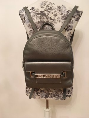 Love Moschino Rucksack in Silber
