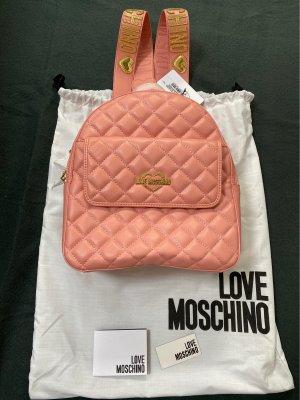 Love Moschino Zaino per la scuola rosa-oro