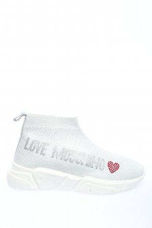 "Love Moschino Zapatillas deslizantes ""Sneakerd Running35 Calza Lu"" blanco"