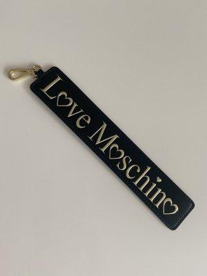 Love Moschino Sleutelhanger zwart-goud