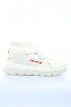 "Love Moschino Schnürsneaker ""Sneaker Calza Bianco"""