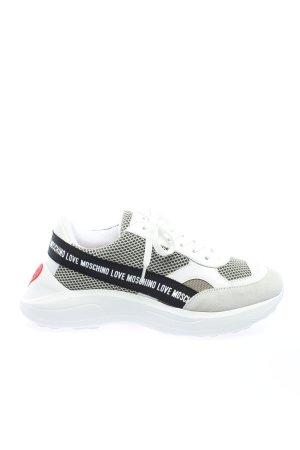 """Love Moschino Schnürsneaker """"Sneaker Running"""" weiß"""