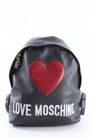 Love Moschino Mochila escolar estampado temático look casual