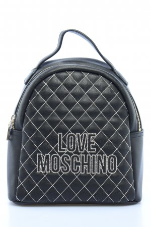 "Love Moschino School Backpack ""Quilted Backpack Nero"""