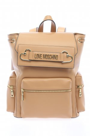 Love Moschino Sac à dos collège rose chair style décontracté